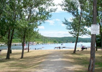 Olmsted Beach, Trout Lake