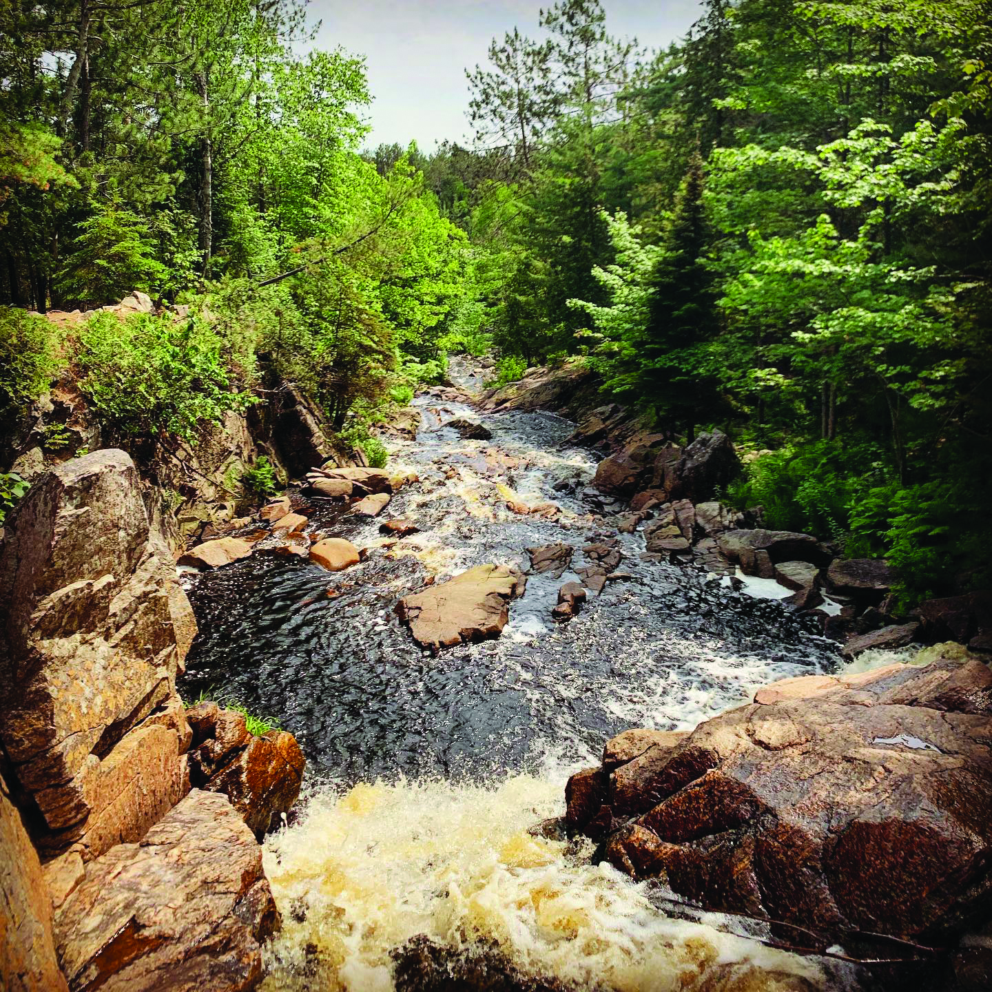Duchesnay Falls North Bay @freecouch