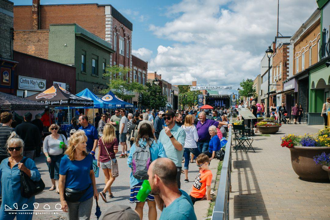 Block Party 2019 Downtown North Bay - Photo Courtesy of Vanessa Tignanelli