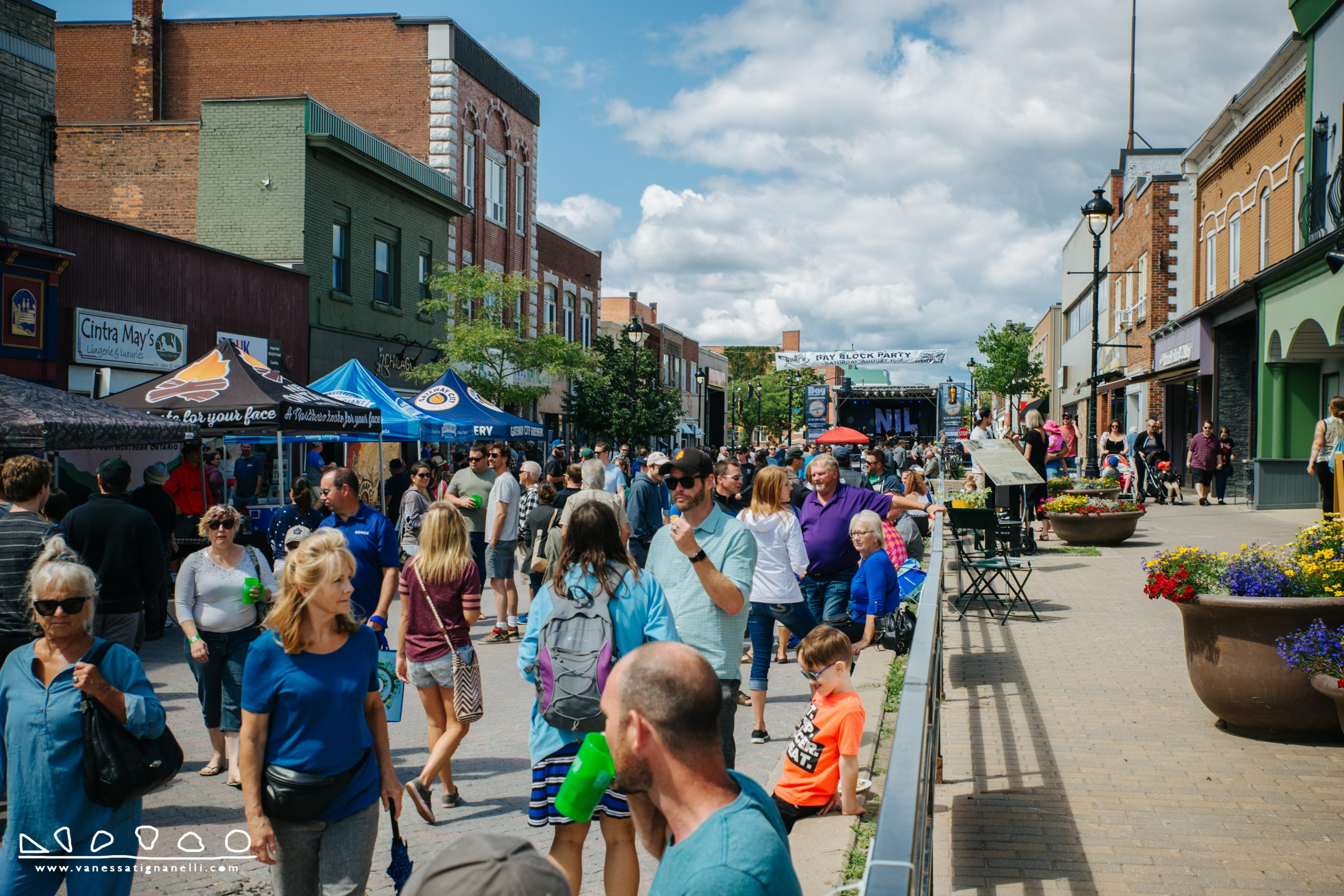 Block Party 2019 Downtown North Bay - Photo Courtesy of Vanessa Tignanelli