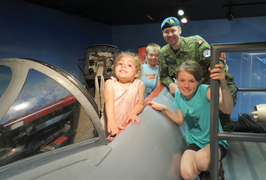 North Bay's Canadian Forces Museum of Aerospace Defence
