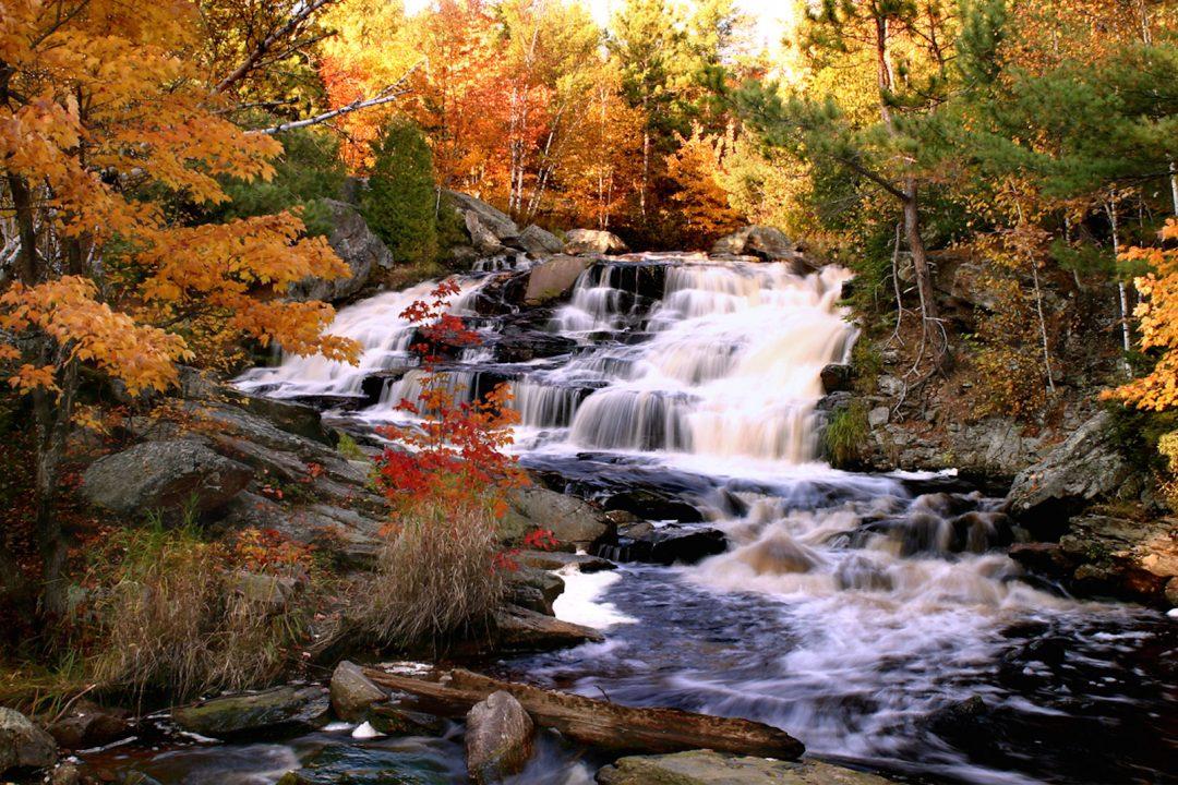 Duchesney Falls Hiking Trail North Bay Ontario