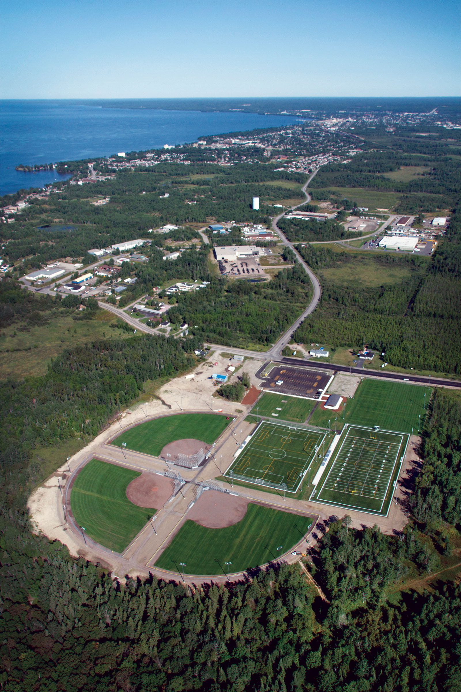 The Steve Omischl Sports Complex North Bay