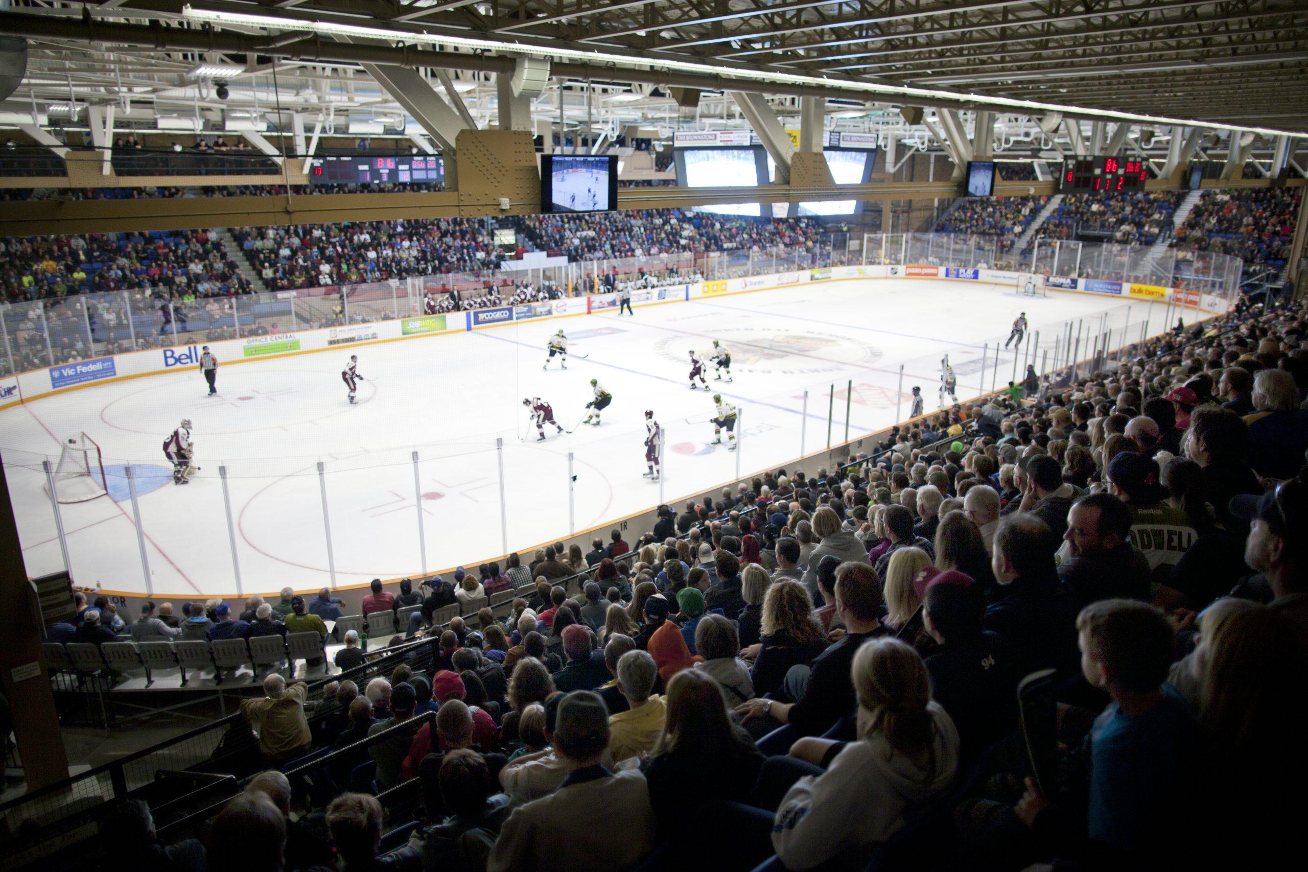 North Bay Battalion at Memorial Gardens Arena