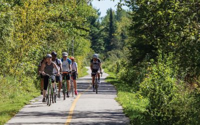 Voyageur Cycling Route