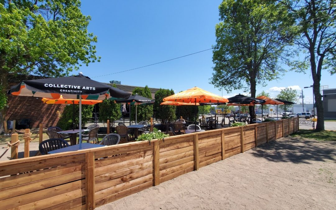 Discover Outdoor Dining in North Bay